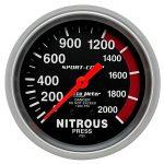 Presion de Nitro Autometer