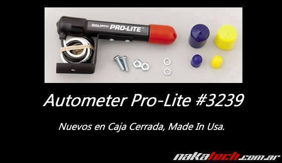 Autometer Mini Pro Lite – Negro o Gris