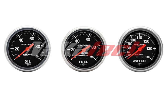 Relojes Autometer Sport Comp – Diámetro: 67mm