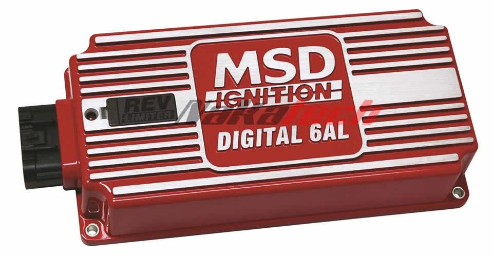 Encendido MSD 6AL Con limitador de RPM