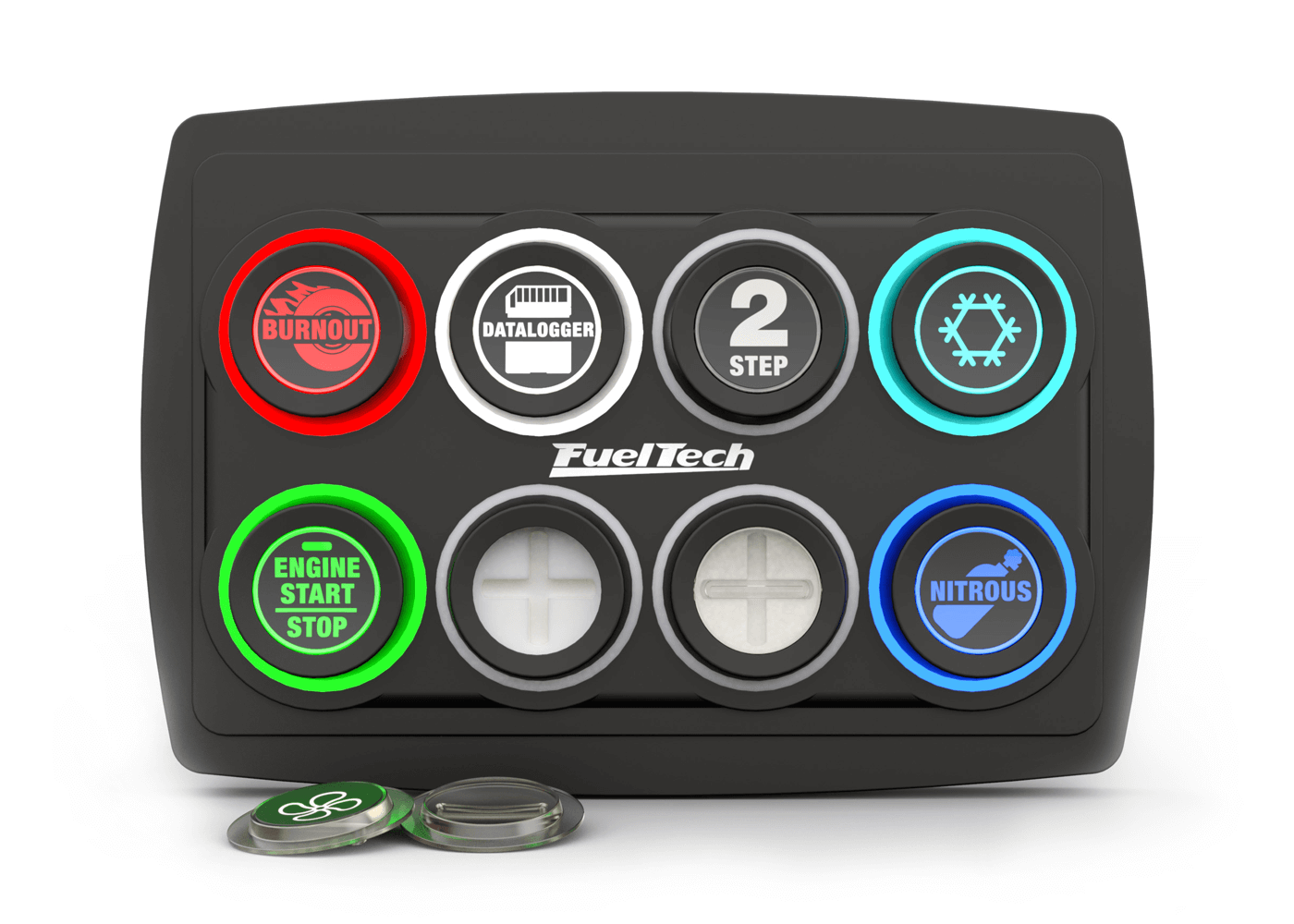 FT SwitchPanel-8 de Fueltech – Botones Programables